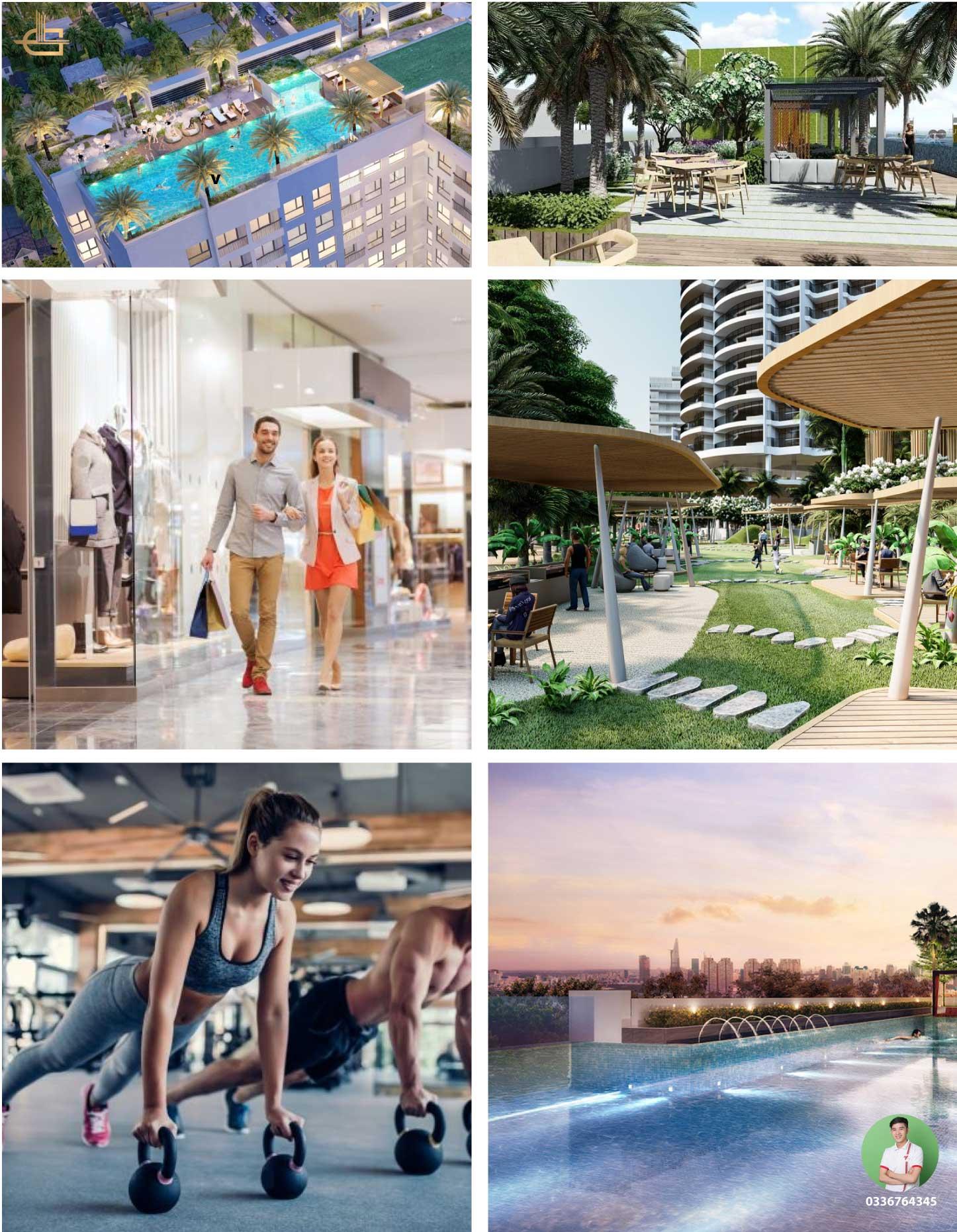 Tiện ích dự án venus luxury Tân Thành